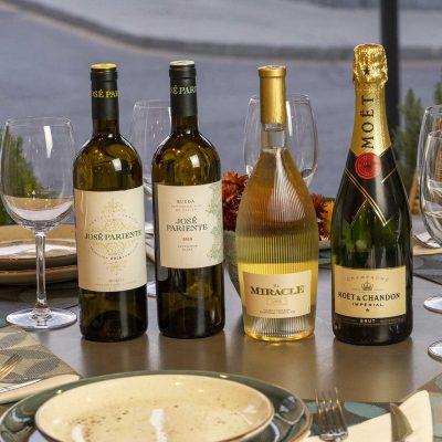 Savanna Carta de Vinos Blancos y espumosos